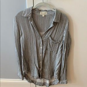 Anthropologie button down long sleeve